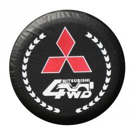 Funda cubre rueda de repuesto 4x4 Mitsubishi