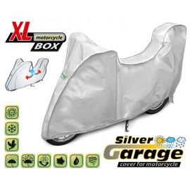 Funda para moto SILVER GARAGE XL + COFRE