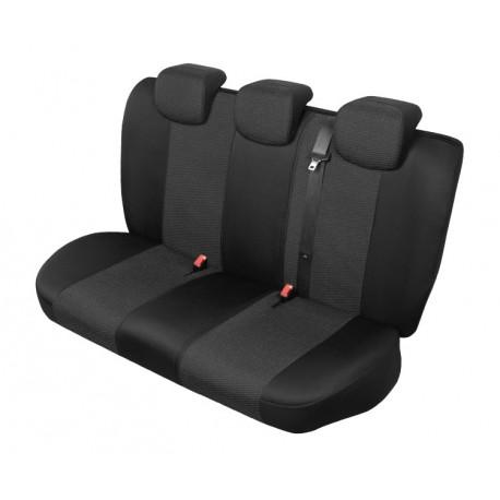 2 X frentes Para Ford Focus Resistente Negro Resistente Al Agua Fundas De Asiento De Coche