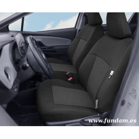 Fundas a medida para asientos delanteros Toyota Yaris III