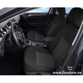 Fundas a medida para asientos delanteros Volkswagen Golf VII