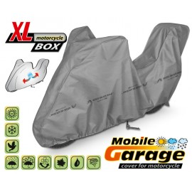 Funda para moto MOBILE GARAGE XL + COFRE