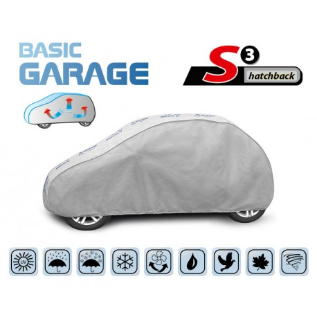 Funda exterior coche BASIC GARAGE S3 Hatchback
