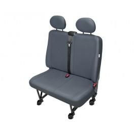 "Funda para asiento delantero doble ""PRACTICAL GRIS DV2"""