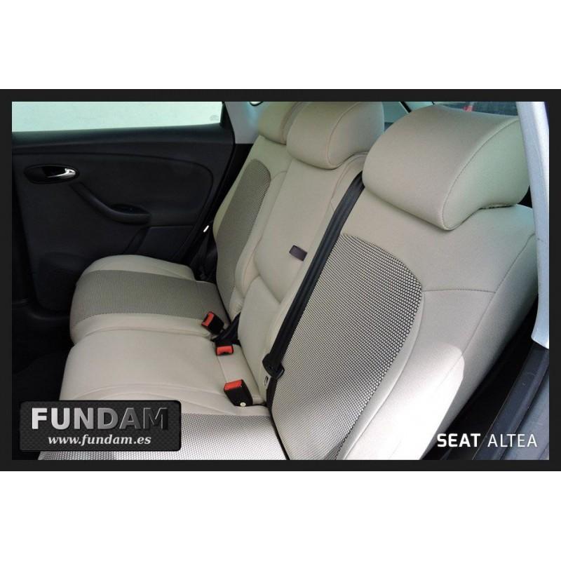 Seat Altea 2004-2015 maßgefertigt medida fundas para asientos funda del asiento gamuza