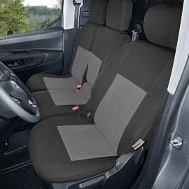 Fundas para asientos delanteros Citroen Berlingo III de tres plazas