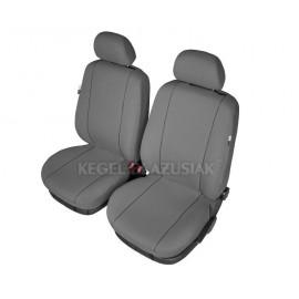 "Fundas para asientos delanteros de coche ""HERMES"" gris Talla M"
