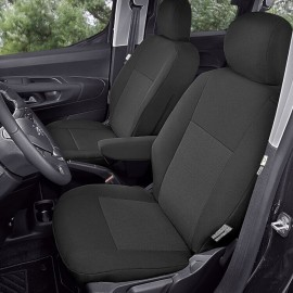 Fundas para asientos delanteros Citroen Berlingo III, Peugeot Partner III, Opel Combe E, Toyota Proace City