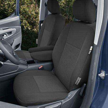 Fundas delanteras y traseras (independientes) para Citroen Berlingo III, Peugeot Rifter, Opel Combo E, Toyota Proace City