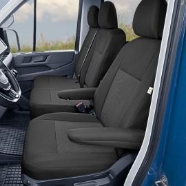 Fundas a medida para asientos delanteros (1+2) - VW· Crafter II / MAN TGE
