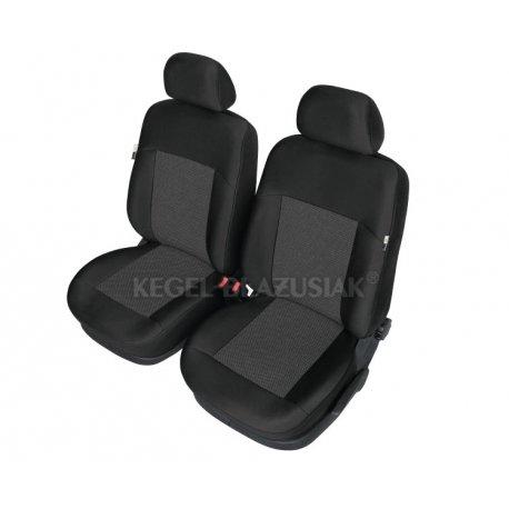 Fundas para asientos gris delantero ele Opel Astra G