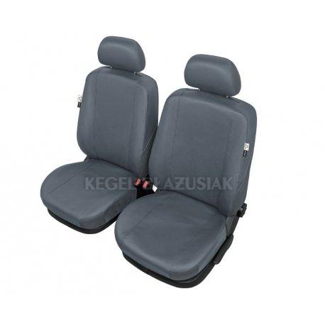 """Fundas para asientos delanteros de coche """"PRACTICAL Gris"""" Talla XL"""