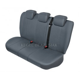 "Funda para asiento trasero de coche ""PRACTICAL Gris"" Talla M_L"
